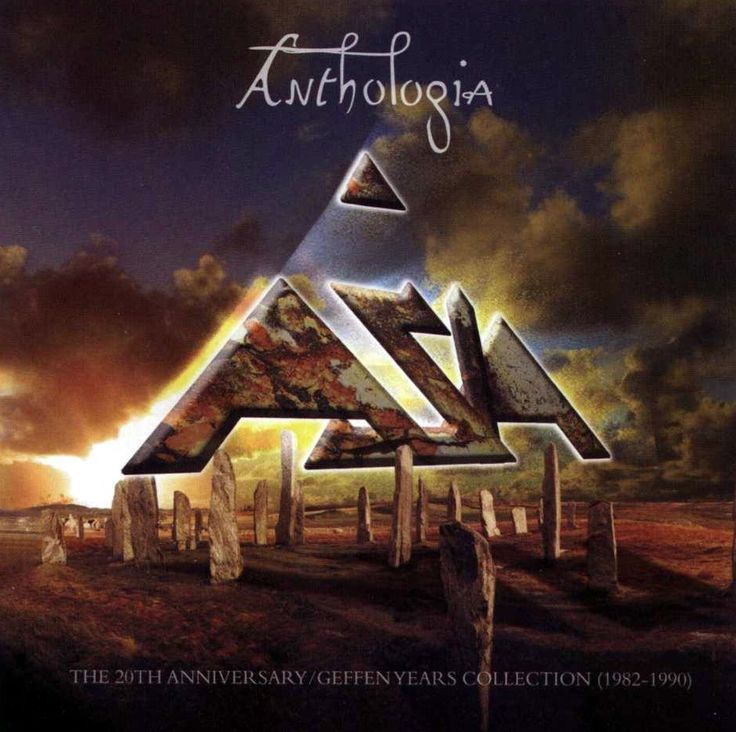 Asia - Anthologia (The 20th Anniversary) Front Cover