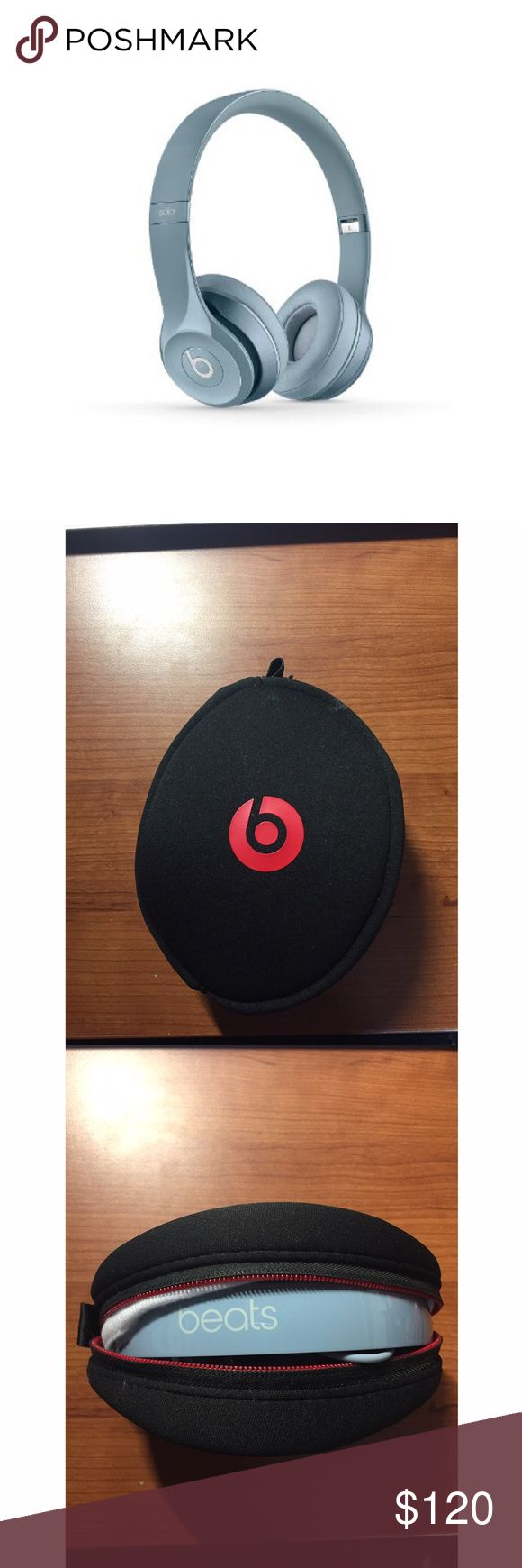Selling this GRAY BEATS BY DR DRE SOLO2 WIRED HEADPHONES on Poshmark! My username is: lillybug1998. #shopmycloset #poshmark #fashion #shopping #style #forsale #Beats by Dr Dre #Other