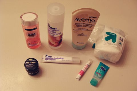 Beauty Box 5 - My Night Time Skincare Routine | Style Through Her Eyes #maybelline #boots #aveeno #lush #bodydrench #cleanandclear #beautybox5