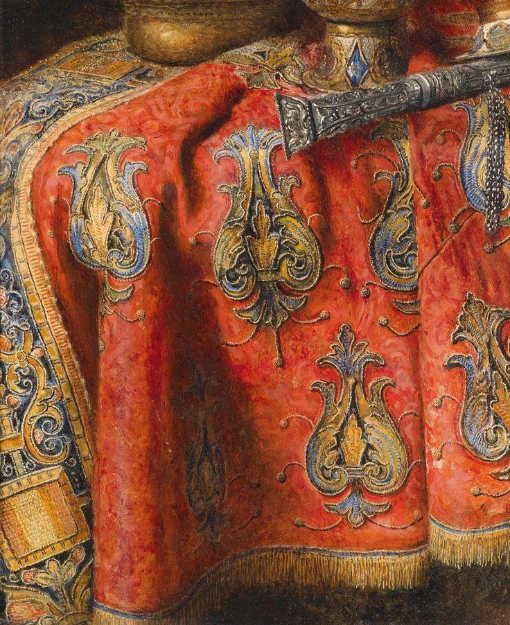 SCHÖDL, Max Austrian (1834-1921)_Still life with oriental antiques 1907 detail.jpg