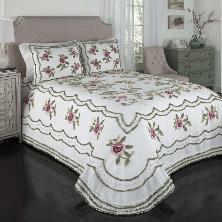 Beatrice Home Fashions Chenille Bedspread