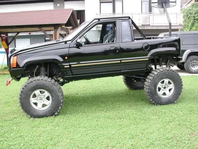 Lifted Jeep Wrangler >> ZJ conversion into pickup truck??? - Page 4 - JeepForum.com   chop top unibody jeep   Pinterest ...