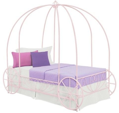 Amazing A carriage for your little princess Dorel Home Products Metal Carriage Bed afflink