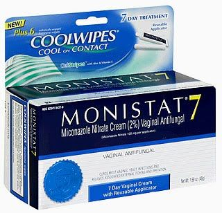 Monistat 7: Miconazole Nitrate for hair growth. With so many great reviews, I might have to try this!