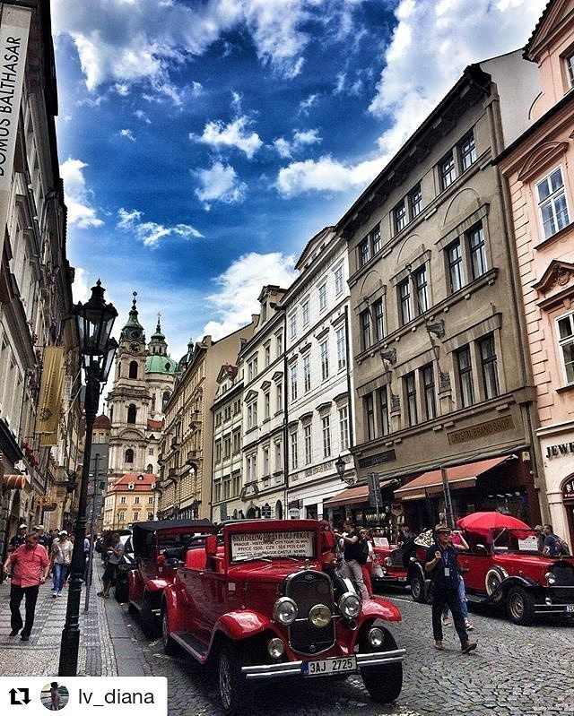 #Repost @lv_diana in Mostecká street  #Prague