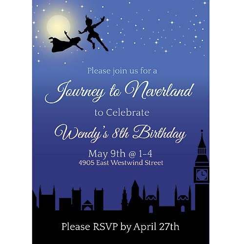 Best 25+ Neverland invitation ideas on Pinterest Peter pan party - prom invitation templates