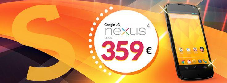 Nexus 4 Gli Stockisti: nuovamente disponibile a 359€