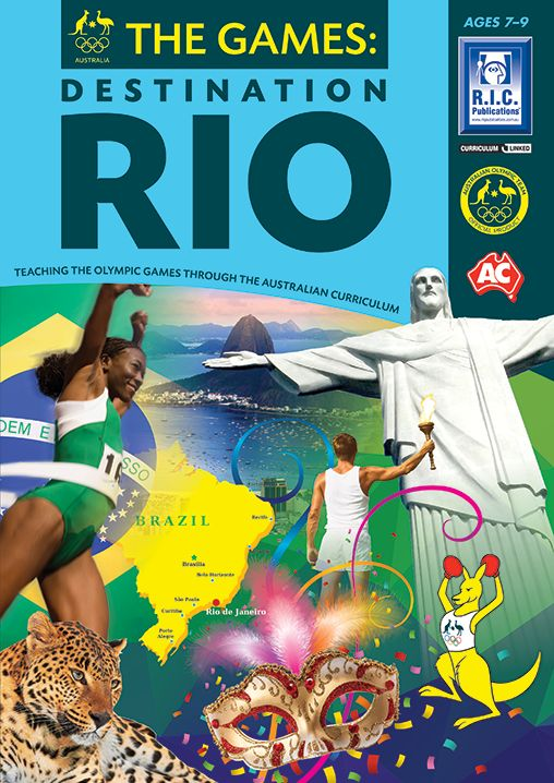 The Games: Destination Rio is a three book series which teaches content from all…