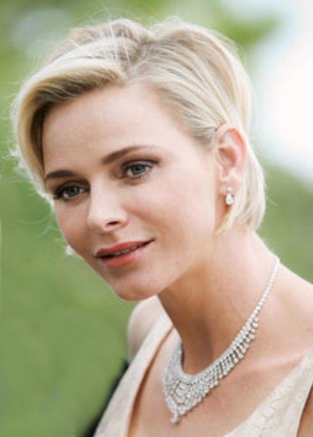 5 Postkarten Fürstin Charlene von Monaco