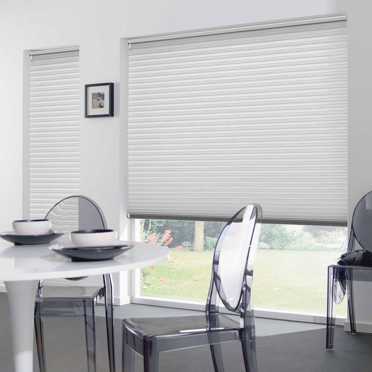 Attractive and contemporary, DUETTE Shades are available in a range of colours and fabric styles to soften the light and bring warmth to any room.