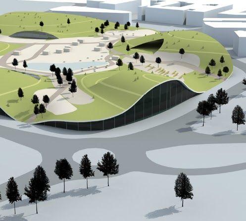 unbuilts: Sports and Recreational Centre | Green Forum Poreč | Porec | Croatia …