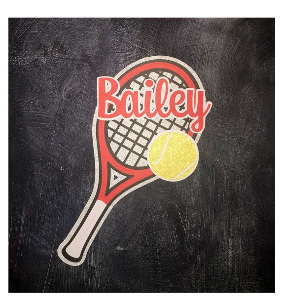 Tennis Locker Sign by KitasCreations on Etsy