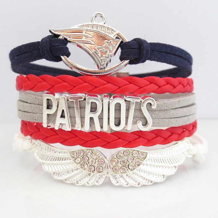 Love New England Patroits Football Magnetic Bracelet - 50% OFF Sale