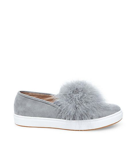 Accentuate your feminine and playful style with EMILY by Steve Madden. Fur  slips on are the perfect way to dress up an outfit for any casual occasions.
