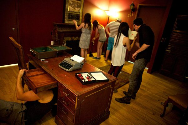 In Escape Rooms, Video Games Meet Real Life By CHRIS SUELLENTROPJUNE 3, 2014