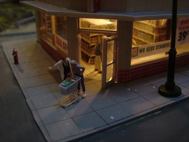 1000 images about 39 model train 39 detailing scenery - Printable ho scale building interiors ...