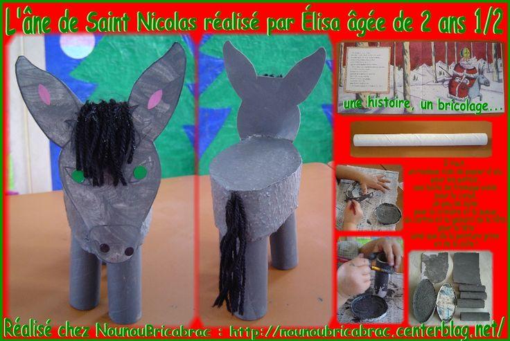 L'âne de Saint Nicolas... réalisé par Élisa, 2 ans 1/2
