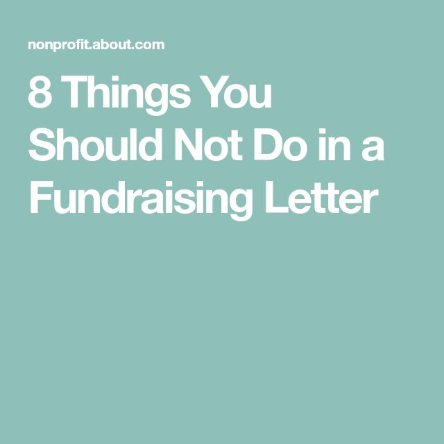 how to write a successful fundraising appeal