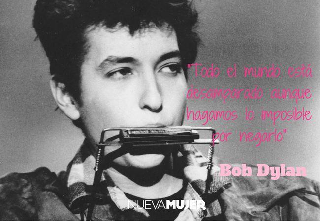 Las mejores frases de Bob Dylan, el premio nobel de literatura 2016