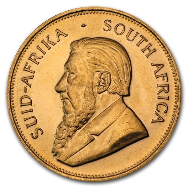 1 oz Gold South African Krugerrand #coin