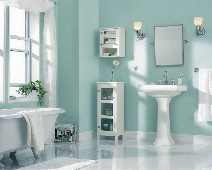 Best Paint Color For Bathroom Using Light Blue Wall Paint