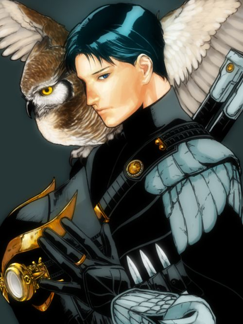 Dick Grayson as a Talon for the Court of Owls