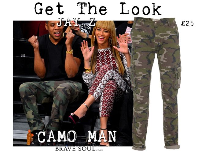 Get the Look #Jayz #Camo #mensfashion #bravesoulcouk