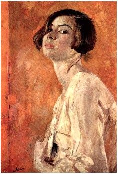 John, Augustus (British, 1878-1961) - Artist's Daughter Poppet - 1927-28