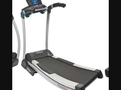 LifeSpan Fitness TR4000i Folding Treadmill Deals Review