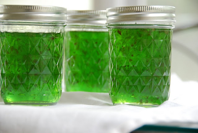 Sparkling Green Pepper Jelly