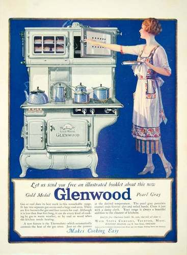 1922 Glenwood Stove: Phillip Style, Antique Stoves, Coal Stove, Glenwood Stove, Stove Range, Medal Stove
