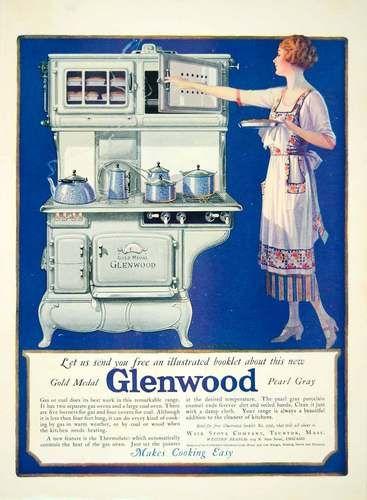 1922 Glenwood Stove