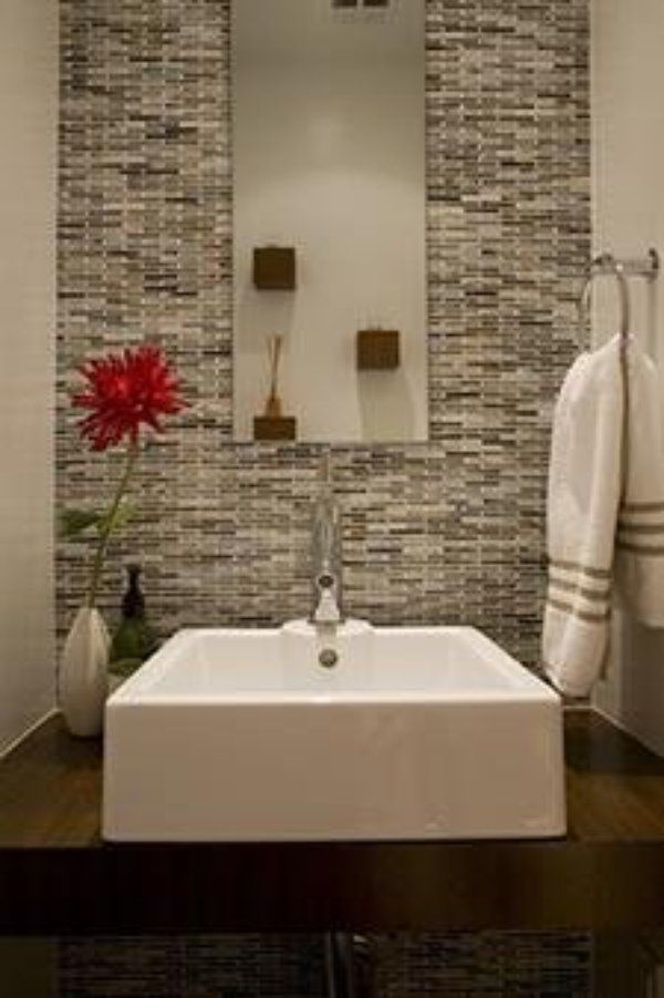 Photo Image  Powder room makeovers to die for