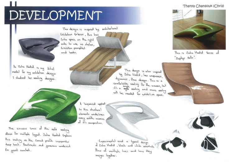 Seating Concept and Development