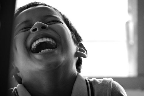 A laugh is a smile that bursts.  - Mary H. Waldrip