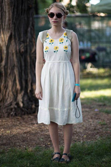 Music festival style: Street style on the girls of Pitchfork--Tavi Gevinson