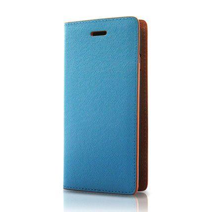 i-phone 6・6S用 バイカラー(青×オレンジ)
