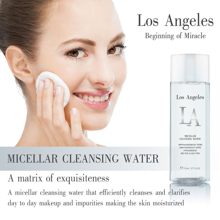 Having powerful ingredients such as Ater/Aqua/Eau, Pentylene Glycol, Peg-6 Caplylic/Capric Glyceride, Propylene Glycol, Cucumis Sativus Fruit Extract, Disodium Edta, Phenoxyethanol, this product will make your life much easier.  Save time and money!  Grab the natural makeup remover, LA Los Angeles Micellar Cleansing Water today!