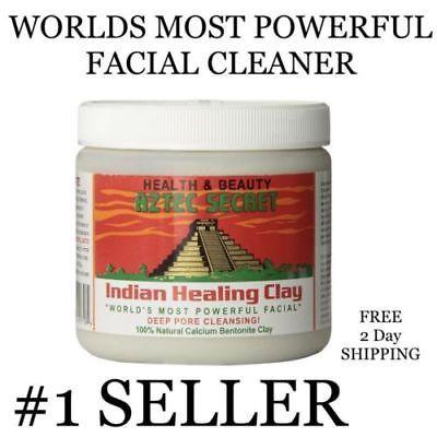 Aztec Secret INDIAN HEALING CLAY Deep Pore Cleansing Beauty Facial Mask - 1 Lb
