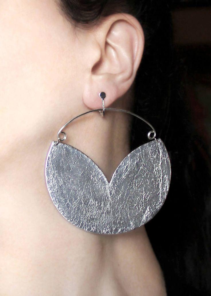 Large earrings Clipon earrings Hoop dangles Big jewelry Clip dangles Silver hoops Screw back earrings Screw on earrings Statement earrings https://www.etsy.com/listing/511341300/large-earrings-clipon-earrings-hoop?utm_campaign=crowdfire&utm_content=crowdfire&utm_medium=social&utm_source=pinterest