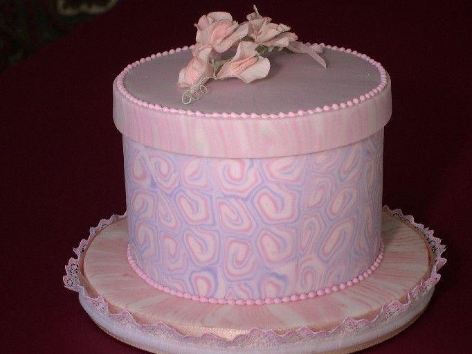 Box Hat Cake