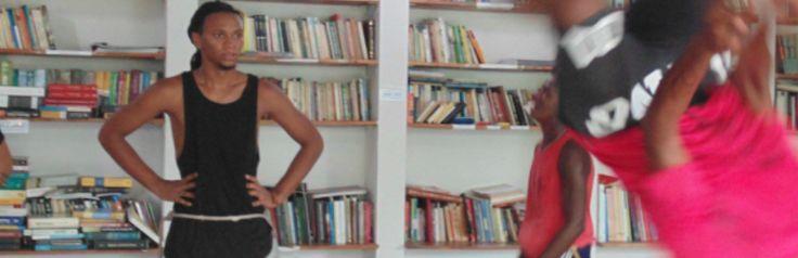 Biblioteca para todos no Engenho do Mato