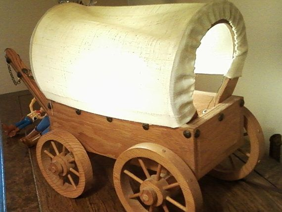 Covered wagon lamp kit woodworking projects plans for Covered wagon plans