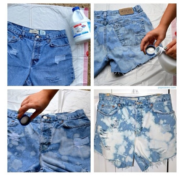 This is so cute!  and you can buy an old worn in pair of shorts at a thrift store and with this you can turn them into your summer go to shorts!