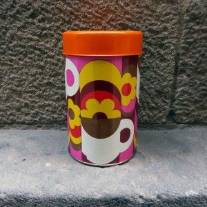 antigua lata de café unic mementosbcn tienda online decoración vintage barcelona