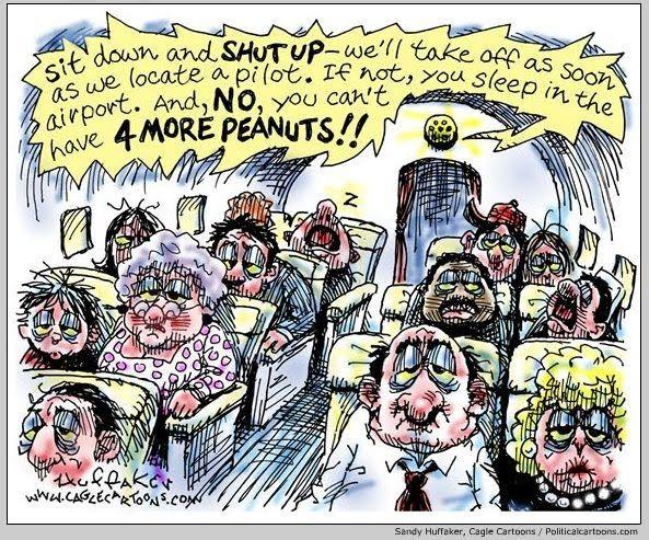 The Cranky Monkey: Airline Humor