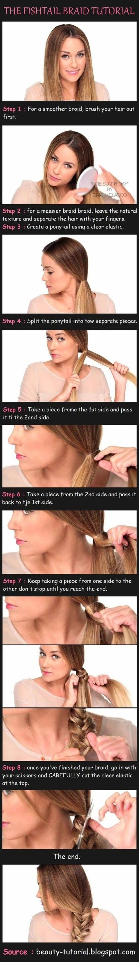 The trick to a perfect Fishtail braid! #hairstyle #howto #beauty #tips - bellashoot.com