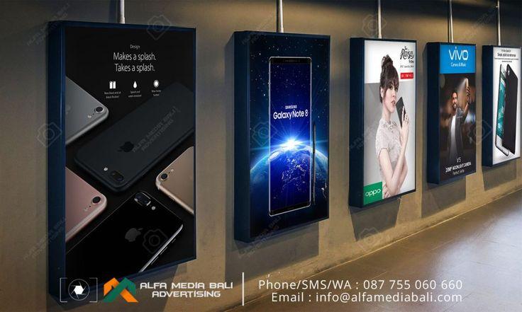 Neon box Acrylic Handphone di bali | Alfa Media Bali