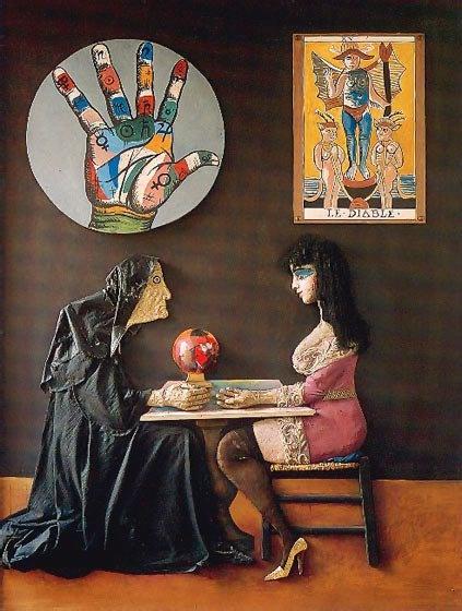 Ramona y la adivina (1976) Antonio Berni