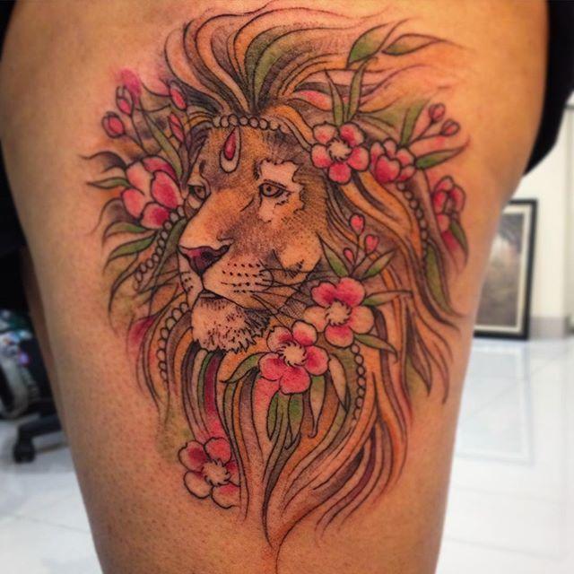 tatuagem le tattoos leão on Instagram